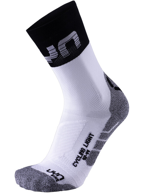 UYN Cycling Light Socks Men White/Black